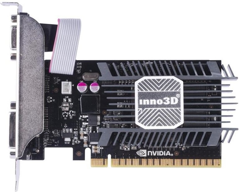 Видеокарта Inno3D N730-1SDV-E3BX GeForce GT 730 LP 2Gb DDR3 64bit фото
