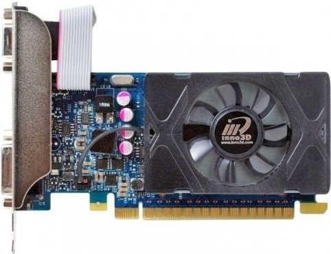 Видеокарта Inno3D N730-3SDV-E5BX GeForce GT 730 LP 2Gb GDDR5 64bit фото