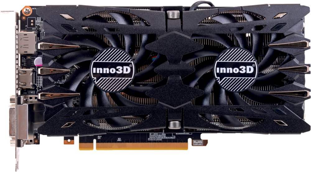 Видеокарта Inno3D Twin X2 (N106F-2SDN-N5GS) GeForce GTX 1060 6Gb GDDR5 192bit