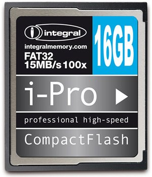 ����� ������ Integral Compact Flash 100x i-Pro 16 GB
