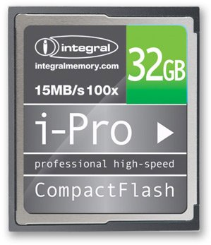 Карта памяти Integral Compact Flash 100x i-Pro 32 GB