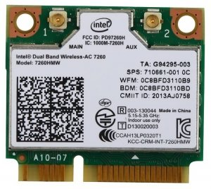 Wi-Fi адаптер Intel 7260HMW
