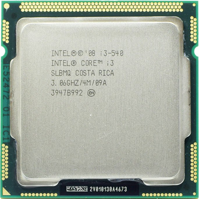 Процессор Intel Core i3-540 3.06GHz