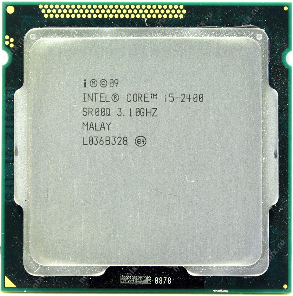 Процессор Intel Core i5-2400 3.1GHz
