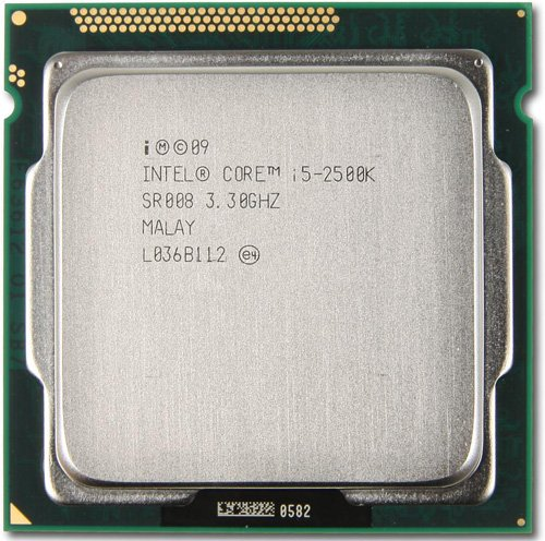 Процессор Intel Core i5-2500K 3.3 GHz
