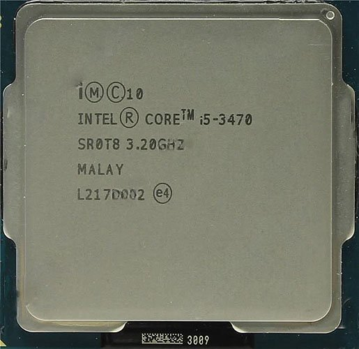 Процессор Intel Core i5-3470 3.2 Ghz