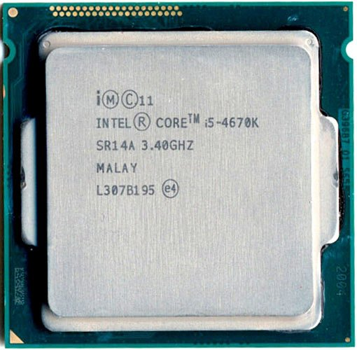 Процессор Intel Core i5-4670K 3.4Ghz