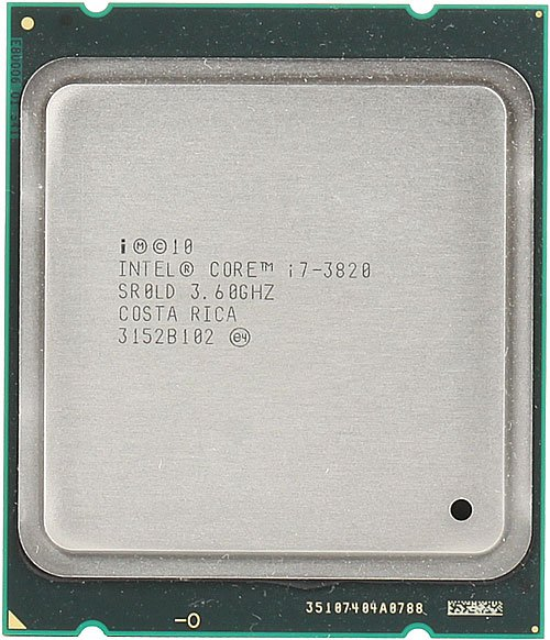 Процессор Intel Core i7-3820 3.6 Ghz