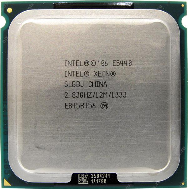Процессор CPU Intel Xeon E5440 2.83Ghz
