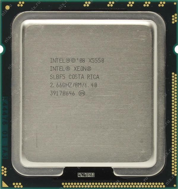 Процессор CPU Intel Xeon X5550 2.6Ghz