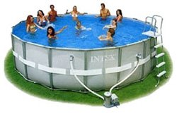 Каркасный бассейн Intex 54454 Ultra Frame Pool 488 x 122