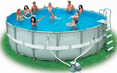 Каркасный бассейн Intex 54472 Ultra Frame Pool 549 x 132