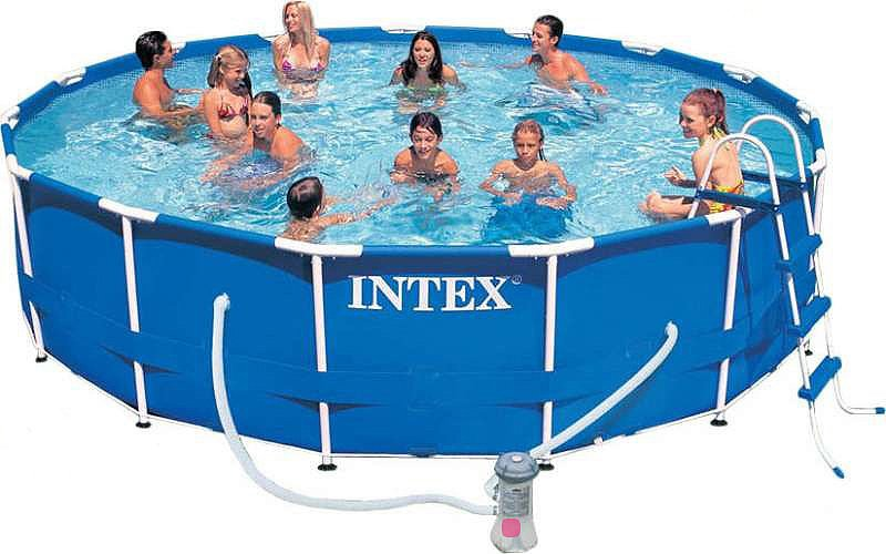 Каркасный бассейн Intex 28234 Metal Frame 457x107