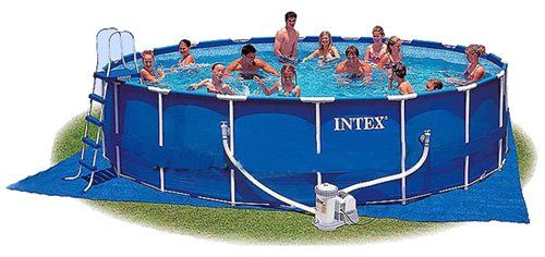 Каркасный бассейн Intex 57966 Metal Frame Pool 732 x 132