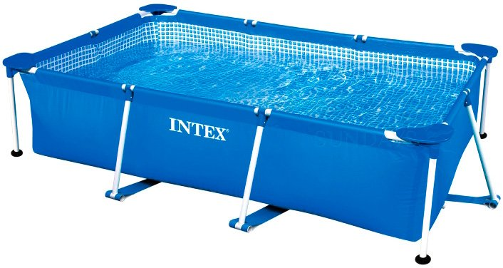 Каркасный бассейн Intex 58983 Rectangular Frame Pool 220 x 150 x 60