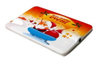 Flash - плеер Jagga CREDIT CARD MERRY CHRISTMAS 4Gb