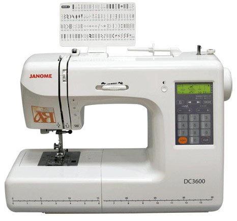 ������� ������ Janome DC 3600