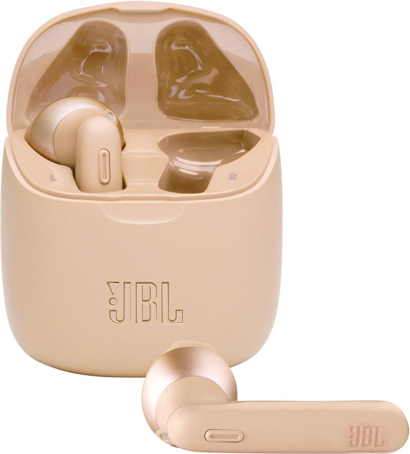 Гарнитура JBL Tune 225 TWS Gold фото