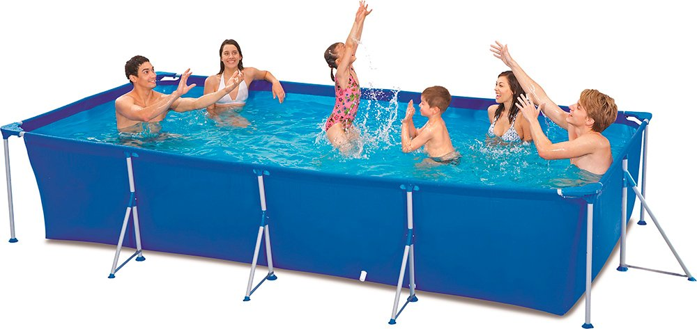 Каркасный бассейн Jilong Rectangular Steel Frame Pool JL016103N