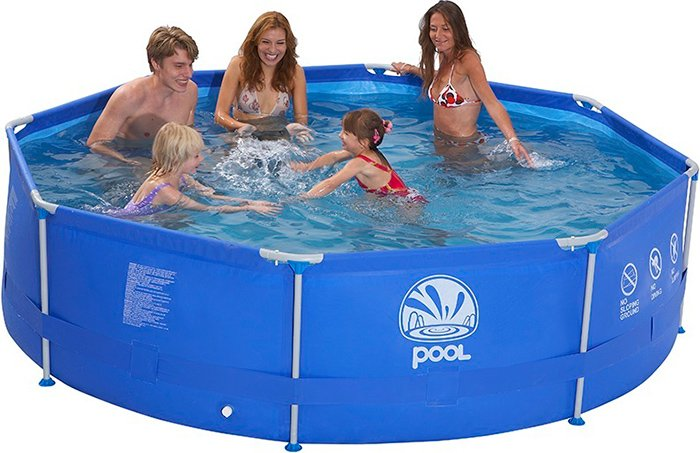 Каркасный бассейн Jilong ROUND STEEL FRAME POOLS JL016026N