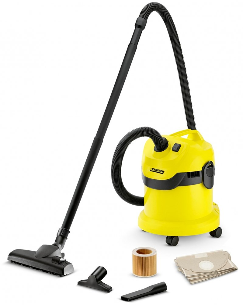 Пылесос Karcher WD 2 Home (1.629-773.0)