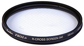 Светофильтр Kenko R-Cross Screen PRO 1D 58mm