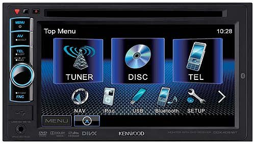 Автомагнитола Kenwood DDX4051BT