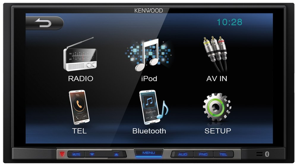 Автомагнитола Kenwood DMX100BT фото