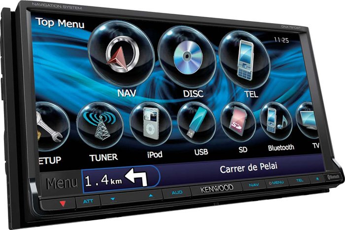 Автомагнитола Kenwood DNX7210BT