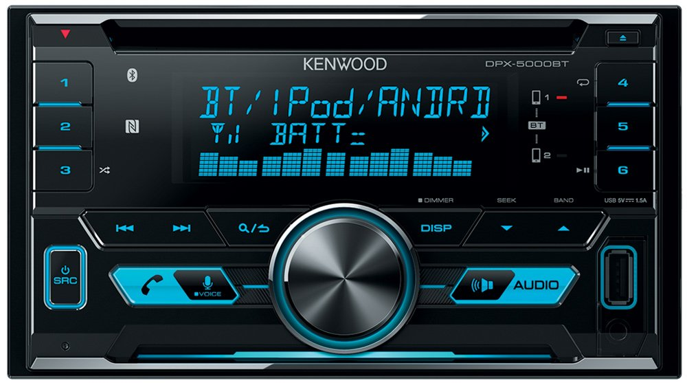 Автомагнитола Kenwood DPX-5000BT фото