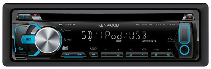 Автомагнитола Kenwood KDC-4757SD