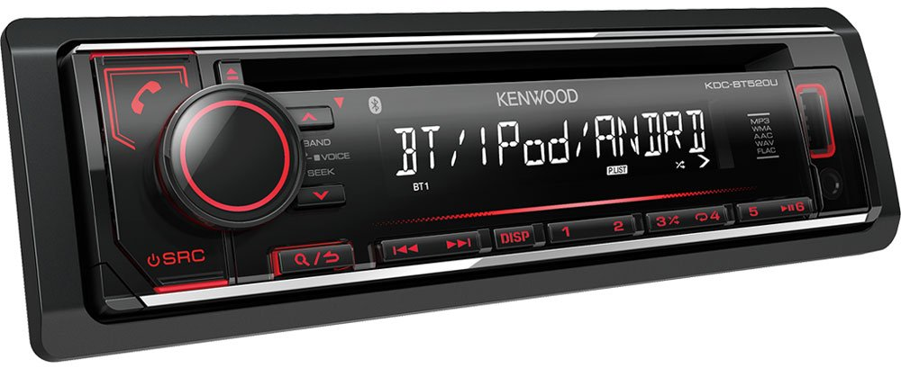Автомагнитола Kenwood KDC-BT520U фото