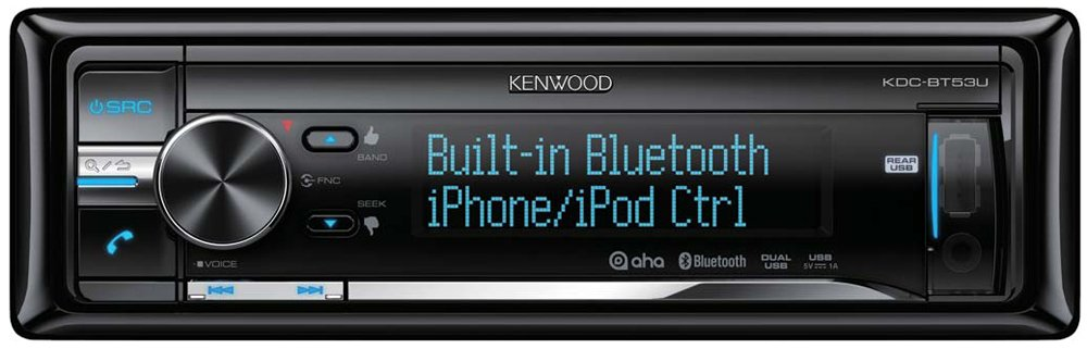 Автомагнитола Kenwood KDC-BT53U