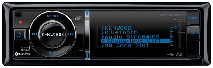 Автомагнитола Kenwood KDC-BT92SD