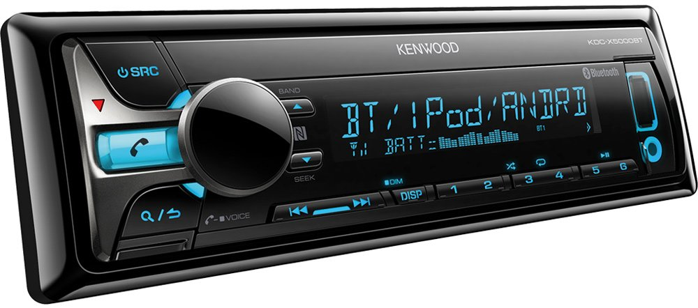Автомагнитола Kenwood KDC-X5000BT фото