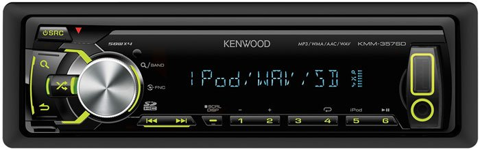 Автомагнитола Kenwood KMM-357SD