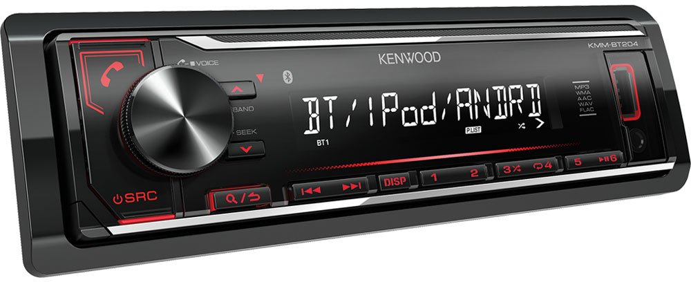 Автомагнитола Kenwood KMM-BT204 фото