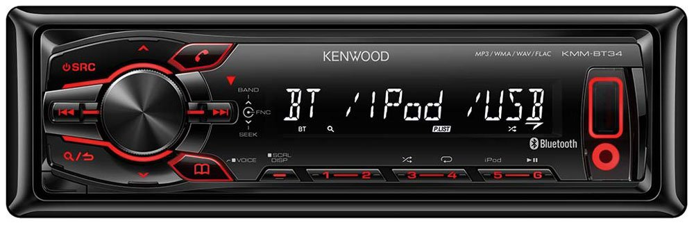 Автомагнитола Kenwood KMM-BT34