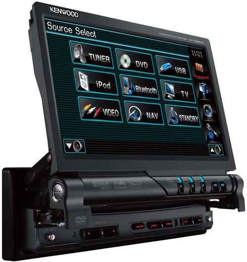 Автомагнитола Kenwood KVT-526DVD