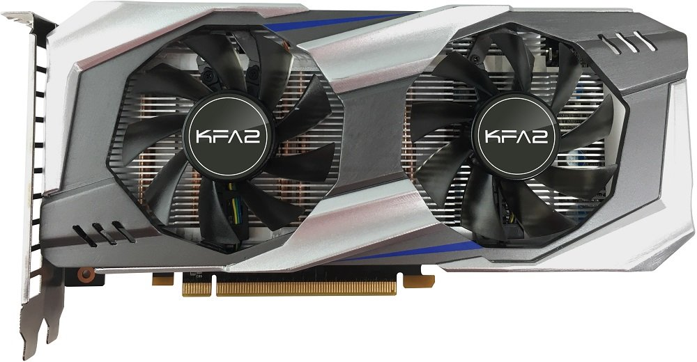 Видеокарта KFA2 60NRH7DSL9OK GeForce GTX 1060 6Gb GDDR5 192bit фото