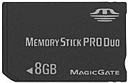 Карта памяти Kingmax Memory Stick PRO Duo 8GB