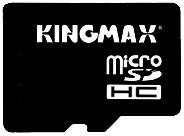 Карта памяти Kingmax micro SDHC Card 16GB Class 4 + 2 adapters