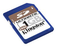 Карта памяти Kingston 133x Secure Digital Ultimate Card 1GB SD/1GB-U
