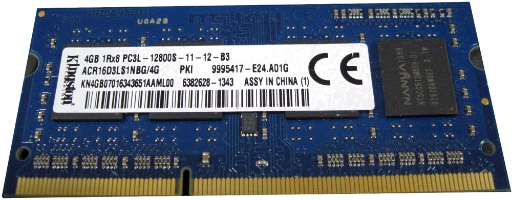 Модуль памяти Kingston ACR16D3LS1NBG/4G DDR3 PC3-12800 4Gb фото