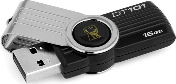 USB-флэш накопитель Kingston DataTraveler 101 G2 16GB (DT101G2/16GB)