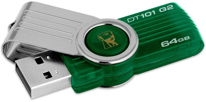 USB-флэш накопитель Kingston DataTraveler 101 G2 64GB (DT101G2/64GBZ)