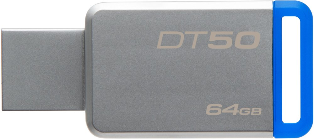 USB-флэш накопитель Kingston DataTraveler 50 64GB (DT50/64GB)