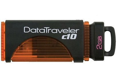 USB-���� ���������� Kingston DataTraveler c10 2GB (DTC10/2GB)