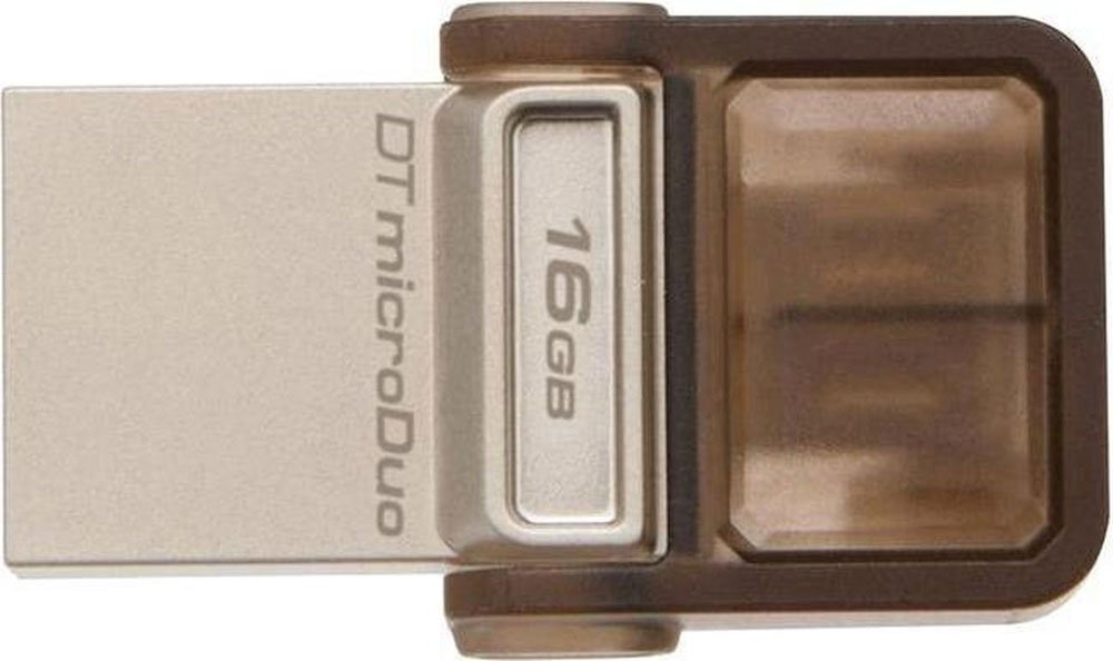 USB-флэш накопитель Kingston DataTraveler MicroDuo 16GB (DTDUO/16GB) фото