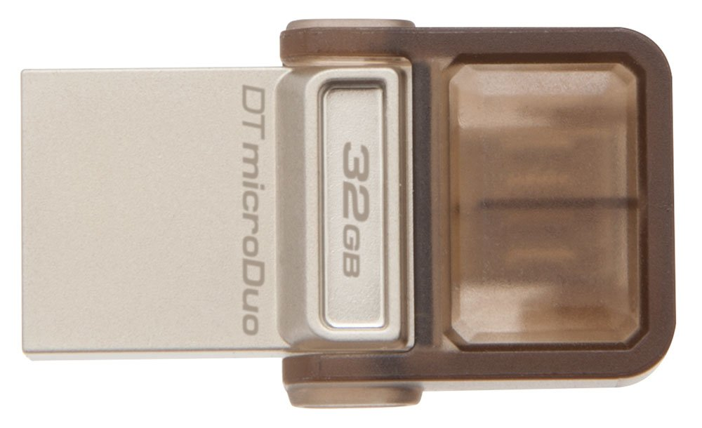 USB-флэш накопитель Kingston DataTraveler MicroDuo 32GB (DTDUO/32Gb) фото